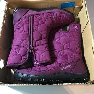Columbia minx Slip 2 Omni Heat winter boot size 5